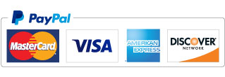 We Accept PayPal, Credit Card Payment